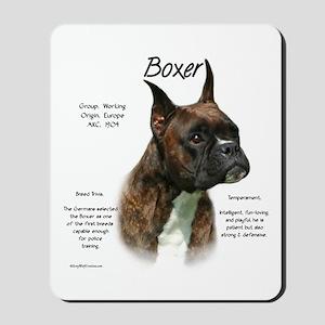 Boxer (brindle) Mousepad