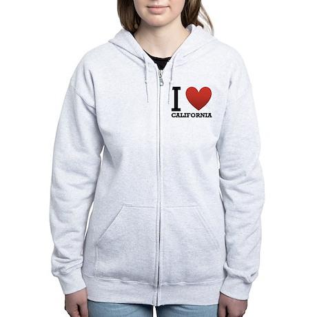 i-love-california.png Women's Zip Hoodie