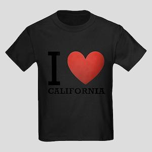i-love-california Kids Dark T-Shirt