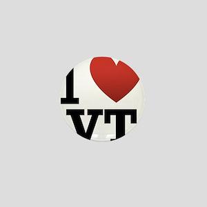 I-love-vermont Mini Button