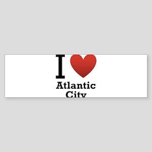 I-Love-Atlantic-City Sticker (Bumper)