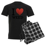 i-love-weed Men's Dark Pajamas