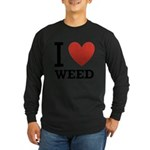 i-love-weed Long Sleeve Dark T-Shirt