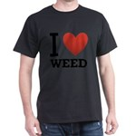 i-love-weed Dark T-Shirt