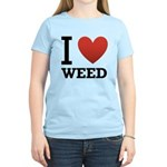 i-love-weed Women's Light T-Shirt