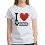 i-love-weed Women's T-Shirt