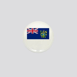 The Pitcairn Islands Flag Picture Mini Button