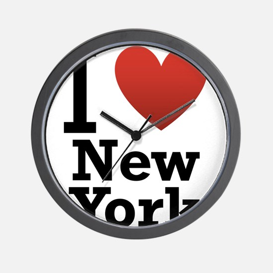 i-love-new-york.png Wall Clock