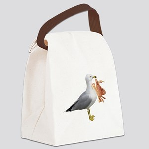 gullcrabW Canvas Lunch Bag