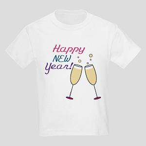 Happy New Year Kids Light T-Shirt