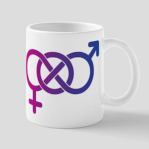 Bi Pride Multicolor Logo Mug