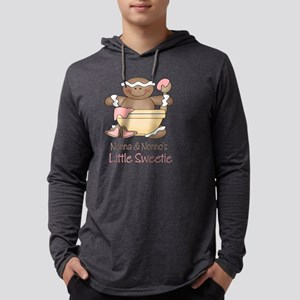 little sweetie nonna no Mens Hooded Shirt