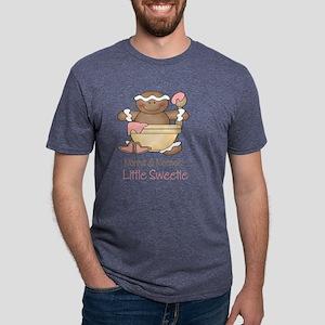 little sweetie nonna no Mens Tri-blend T-Shirt