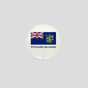 The Pitcairn Islands Flag Gear Mini Button