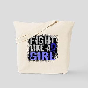 Fight Like a Girl 31.8 Arthritis Tote Bag