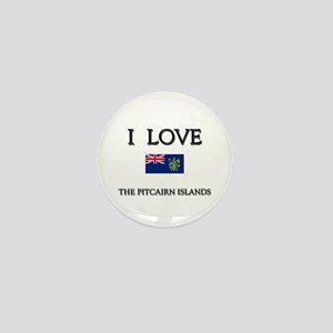 I Love The Pitcairn Islands Mini Button