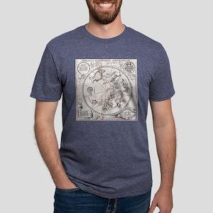 Southern hemisphere star ch Mens Tri-blend T-Shirt