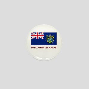 The Pitcairn Islands Flag Merchandise Mini Button