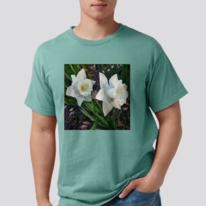 Daffodils2WhiteClose10x1 Mens Comfort Colors Shirt