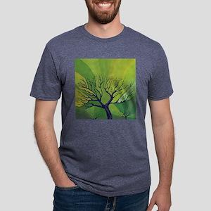 forest_green_throw_pillow.p Mens Tri-blend T-Shirt