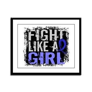 Licensed Fight Like a Girl 31.8 Framed Panel Print