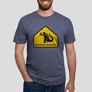 Monster Crossing Mens Tri-blend T-Shirt