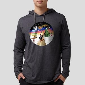 XSigns-GreatDane (D) Mens Hooded Shirt