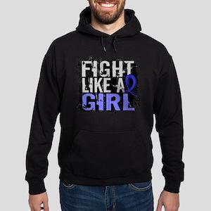 Licensed Fight Like a Girl 31.8 RA Hoodie (dark)