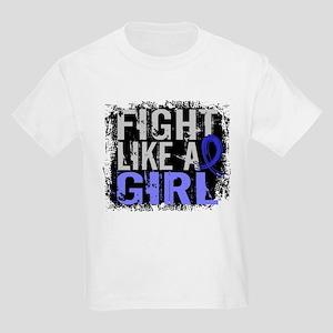Licensed Fight Like a Girl 31.8 Kids Light T-Shirt