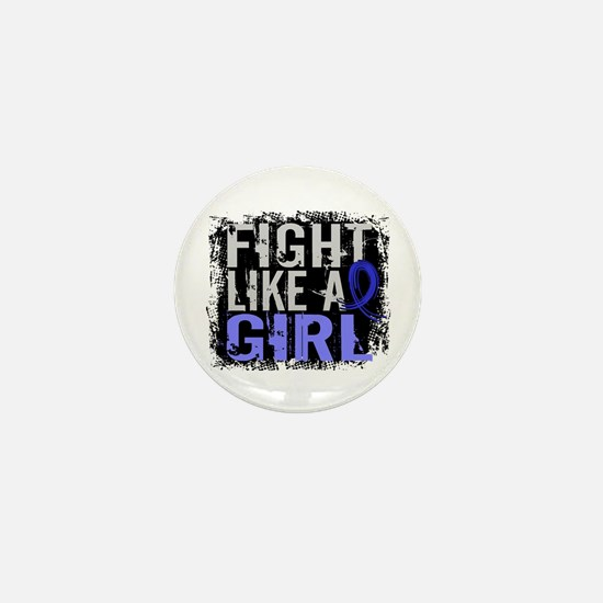 Licensed Fight Like a Girl 31.8 RA Mini Button