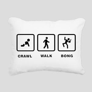 Bong Rectangular Canvas Pillow