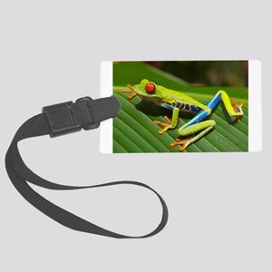 Red Eyed Tree Frog Large Luggage Tag