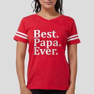 Best Papa Ever. Womens Football Shirt