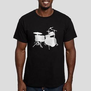 Cool Drum Kit Men's Fitted T-Shirt (dark)