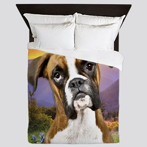 Boxer Meadow Queen Duvet