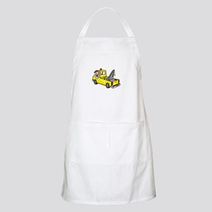 Tow Wrecker Truck Driver Thumbs Up Apron