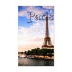 Paris Rectangle Car Magnet
