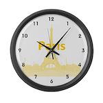 Paris Large Wall Clock