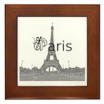 Paris Framed Tile