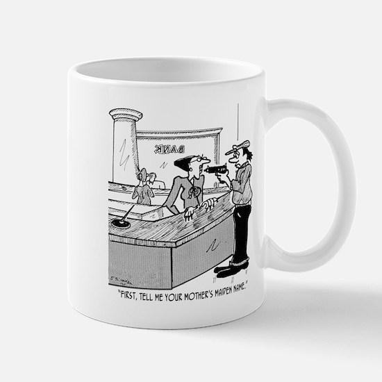 Bank Cartoon 2922 Mug