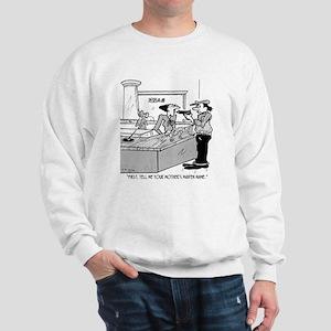 Bank Cartoon 2922 Sweatshirt