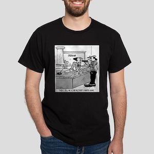 Bank Cartoon 2922 Dark T-Shirt