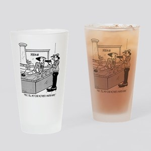 Bank Cartoon 2922 Drinking Glass