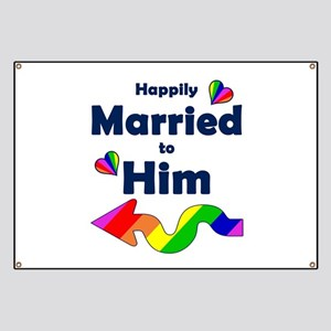 Married to Him Left Arrow Banner