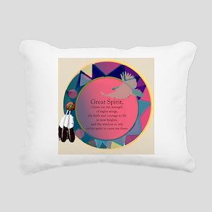3-SpiritSHEILDpts Rectangular Canvas Pillow
