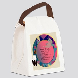 3-SpiritSHEILDpts Canvas Lunch Bag