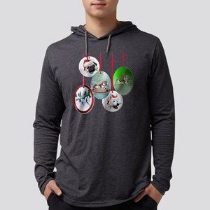 ornament section Mens Hooded Shirt