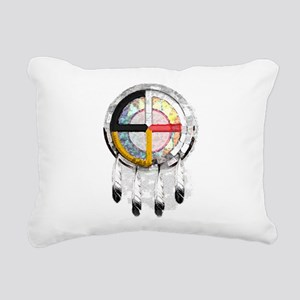 4directSHIELDtwo Rectangular Canvas Pillow