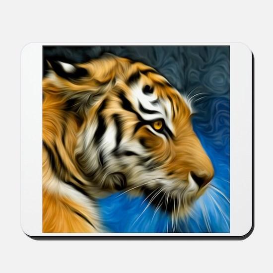 Tiger Art Painting Mousepad