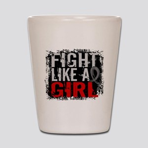Fight Like a Girl 31.8 Diabetes Shot Glass